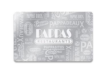 Pappadeaux Seafood Kitchen Gift Cards from CashStar